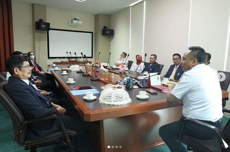 Poltekpar Makassar melakukan kunjungan kerja sama ke Politeknik Ilmu Pelayaran (PIP) Makassar