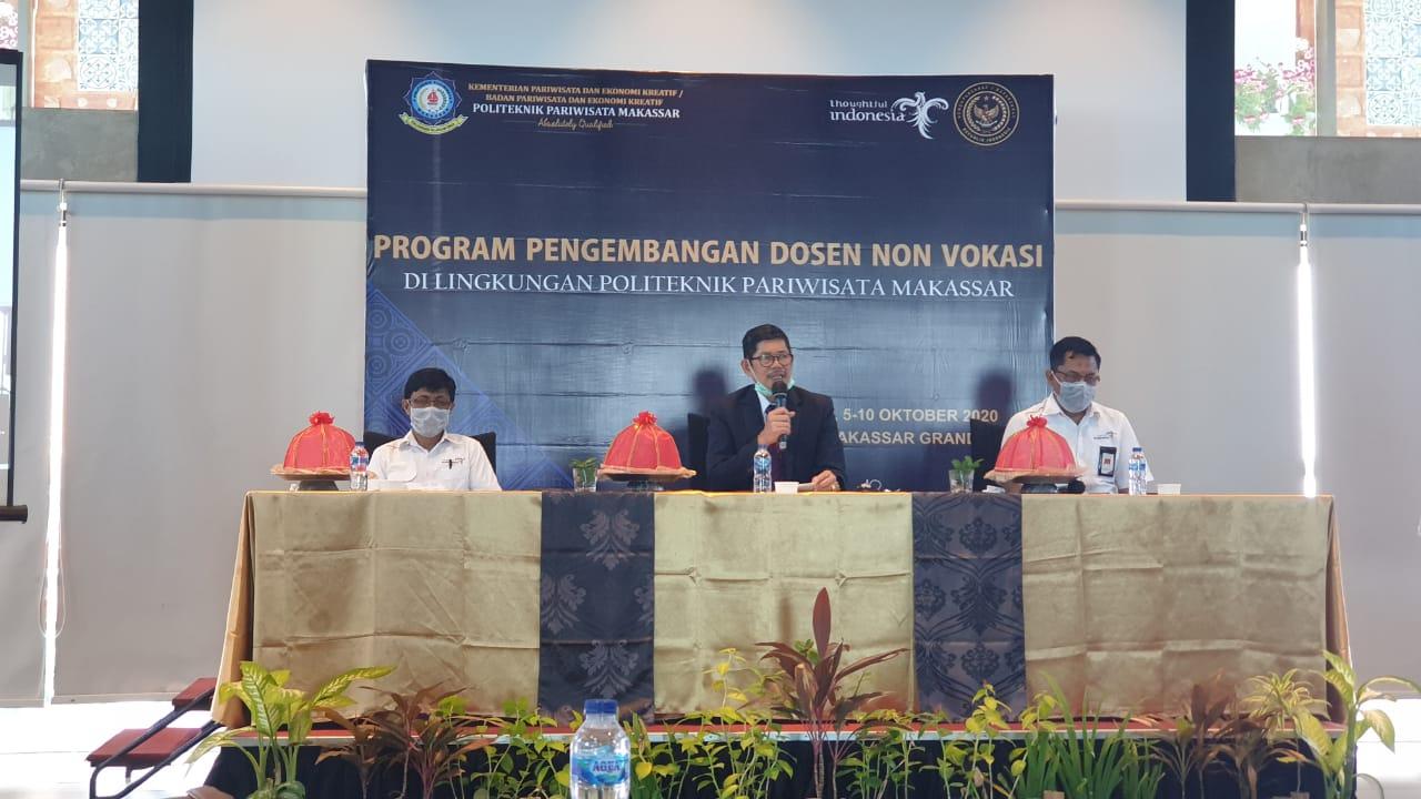Tingkatkan Kualitas Poltekpar Melaksanakan Program Pengembangan Dosen Non Vokasi
