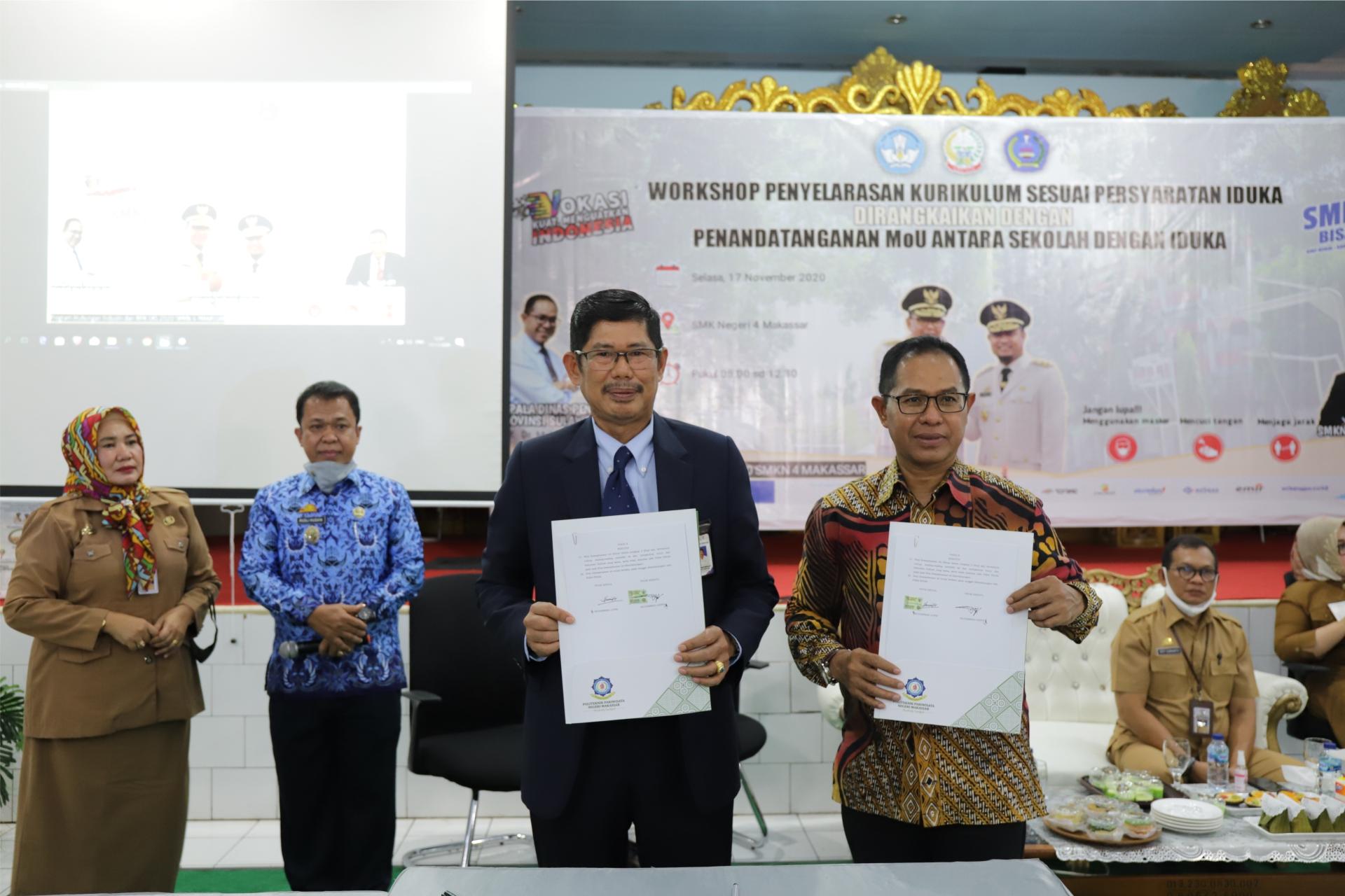 Tingkatkan Kualitas Pendidikan Vokasi Pariwisata, Poltekpar Makassar Laksanakan MoU dengan Dinas Pendidikan Sulsel