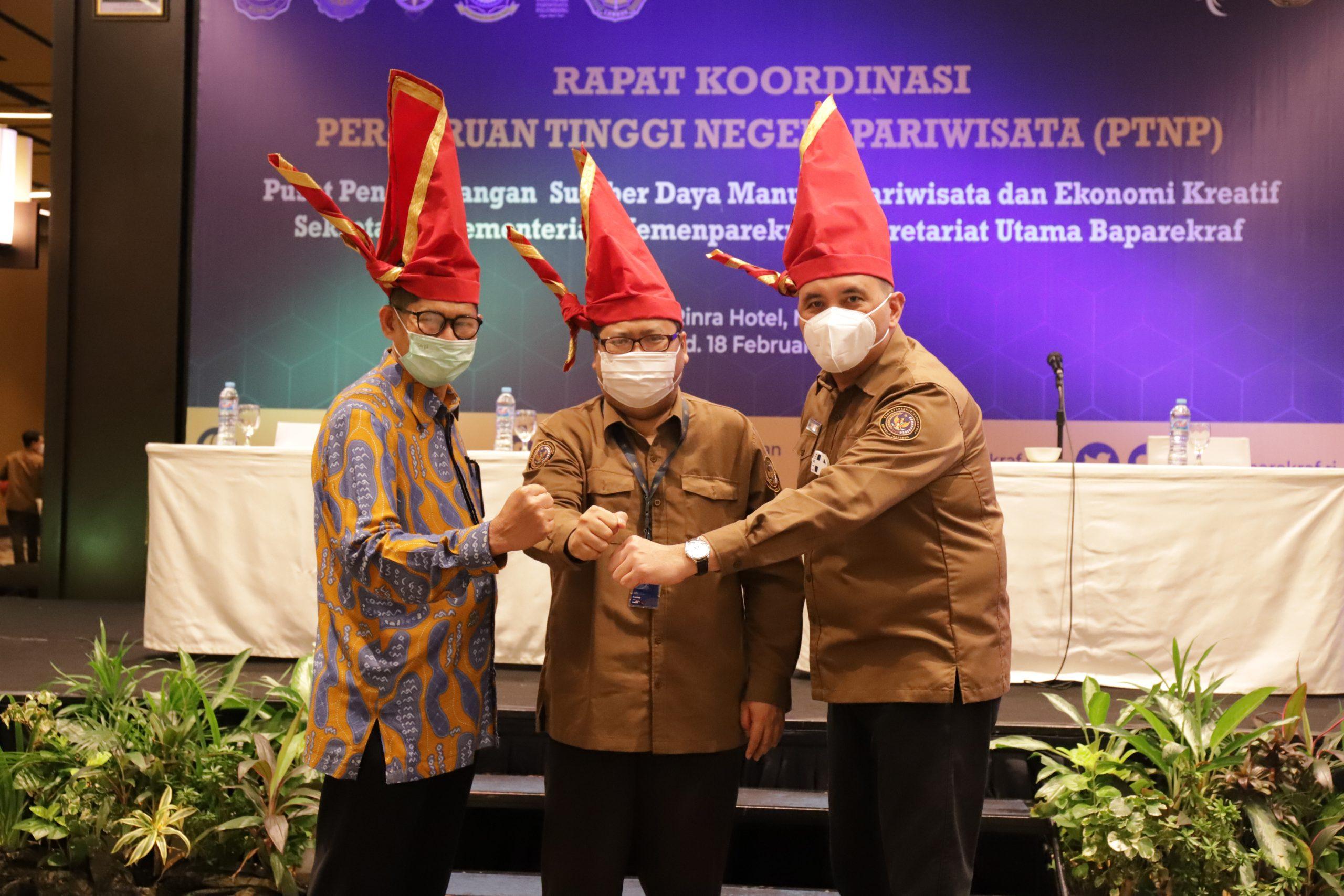 Poltekpar Makassar menjadi Tuan Rumah dalam Rapat Koordinasi 6 Perguruan Tinggi Negeri Pariwisata (PTNP)